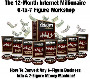 The 12-Month Internet Millionaire 6-to-7 Figure Workshop